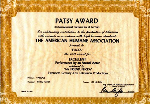 The Patsy Award